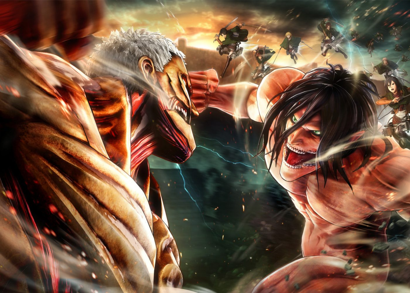 Kenali Berbagai Monster Mengerikan Di Attack On Titan Greenscene