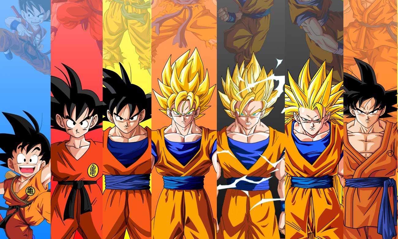 Inilah 20 Transformasi Terkuat Dari Goku