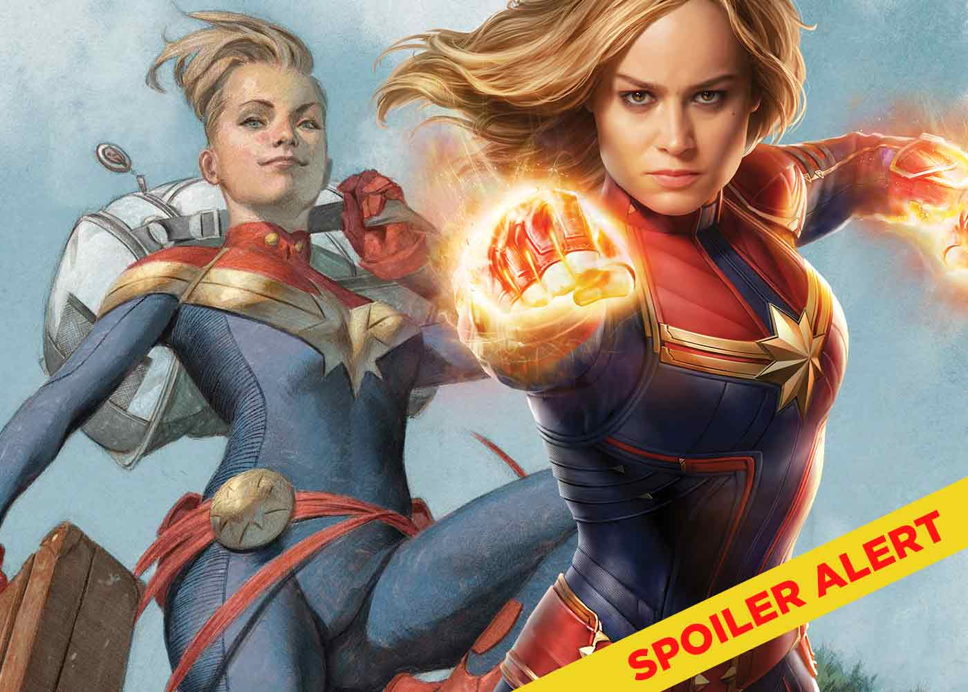 captain marvel: the differences between comic book and movie