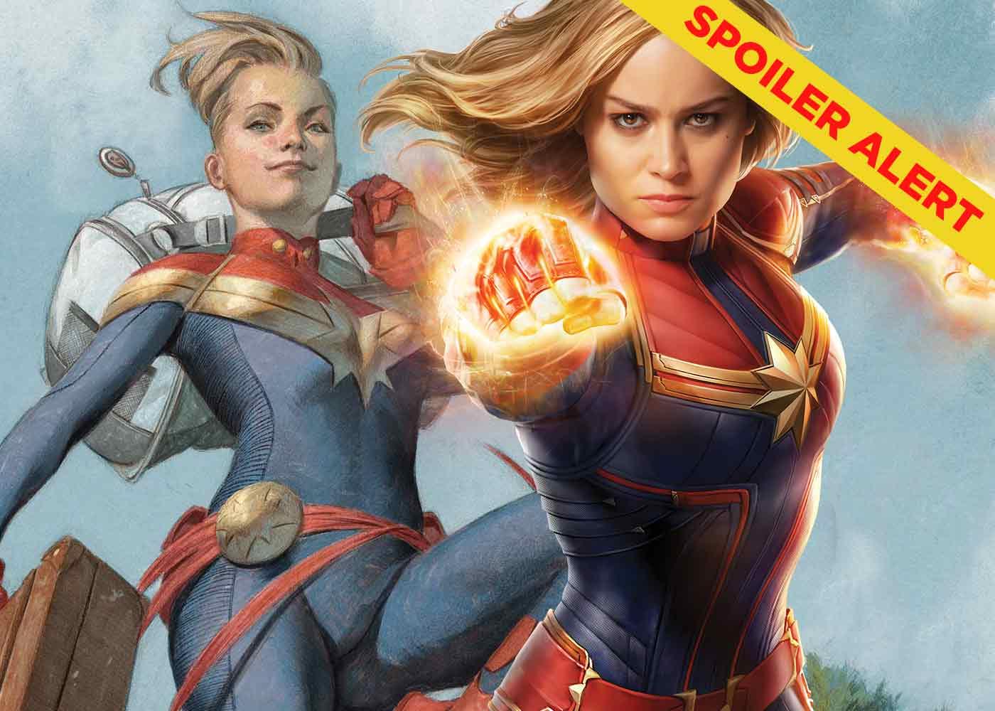 perbedaan captain marvel versi film dan komik | greenscene