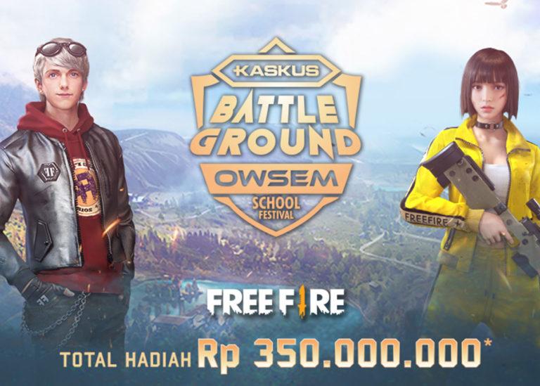 Siap-siap Mabar di Kota Bandung, KASKUS Battleground Owsem School Festival