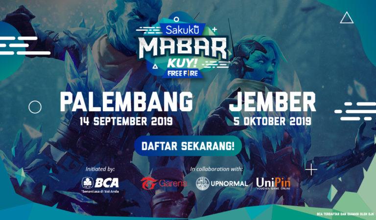 Setelah Pontinak dan Depok, Sakuku Mabar Kuy Free Fire Bakal Sambangi Palembang dan Jember!