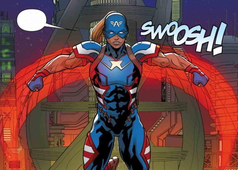 Captain America Dari Masa Depan Adalah Seorang Wanita