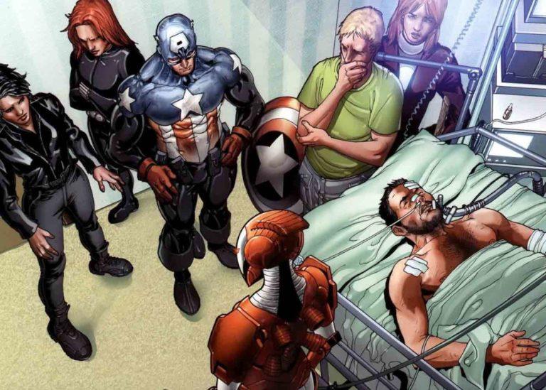 Berbagai Kematian Tragis Tony Stark