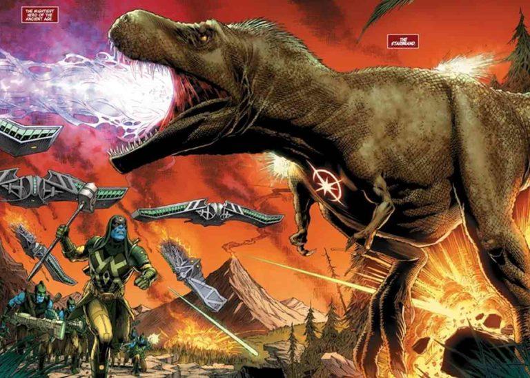 Superhero Marvel Pertama Adalah T-Rex?