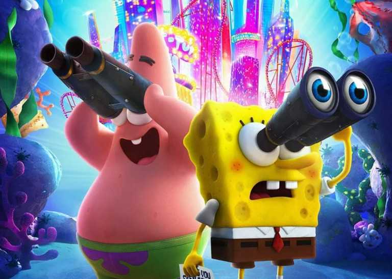 Keanu Reeves Tampil di Trailer Spongebob Movie: Sponge On the Run