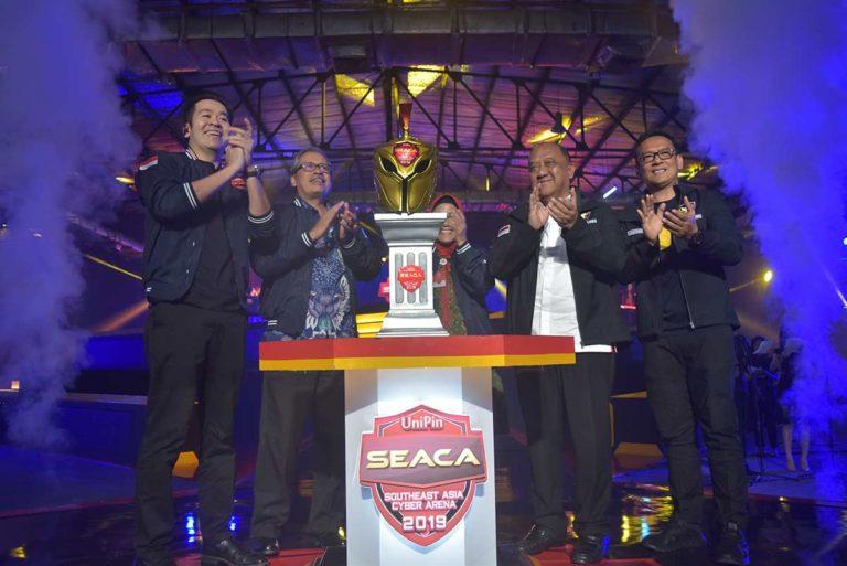 UniPin SEACA 2019 Jadi Gerbang Pelopor Atlet Esports Naik Kelas