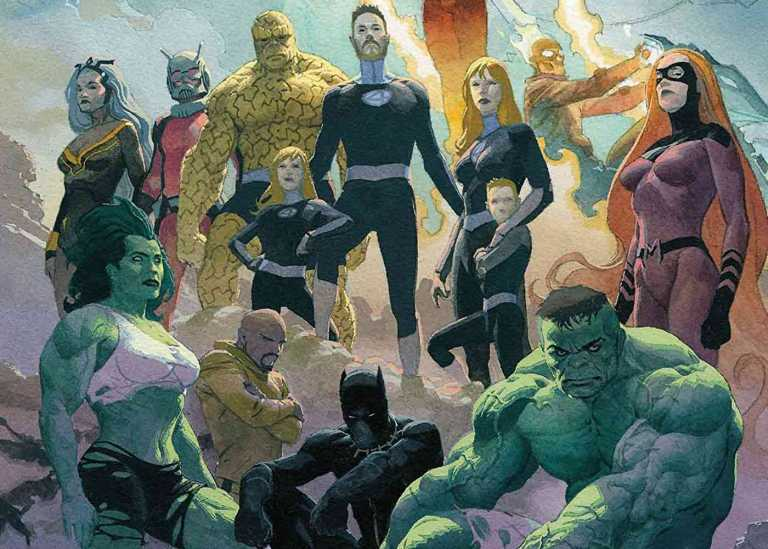 Avengers & Fantastic Four Bersatu Melawan Kree & Skrull