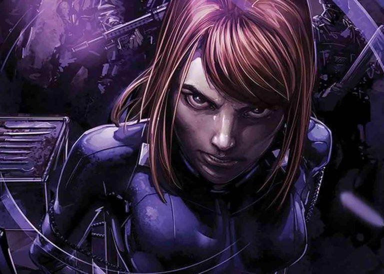 Black Widow Gunakan Armor Iron Man!