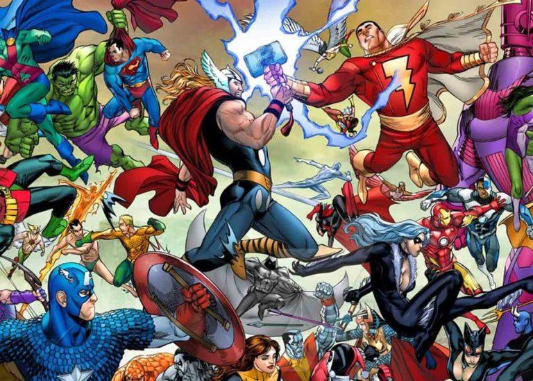 Crossover DC & Marvel Berjudul Secret Crisis?