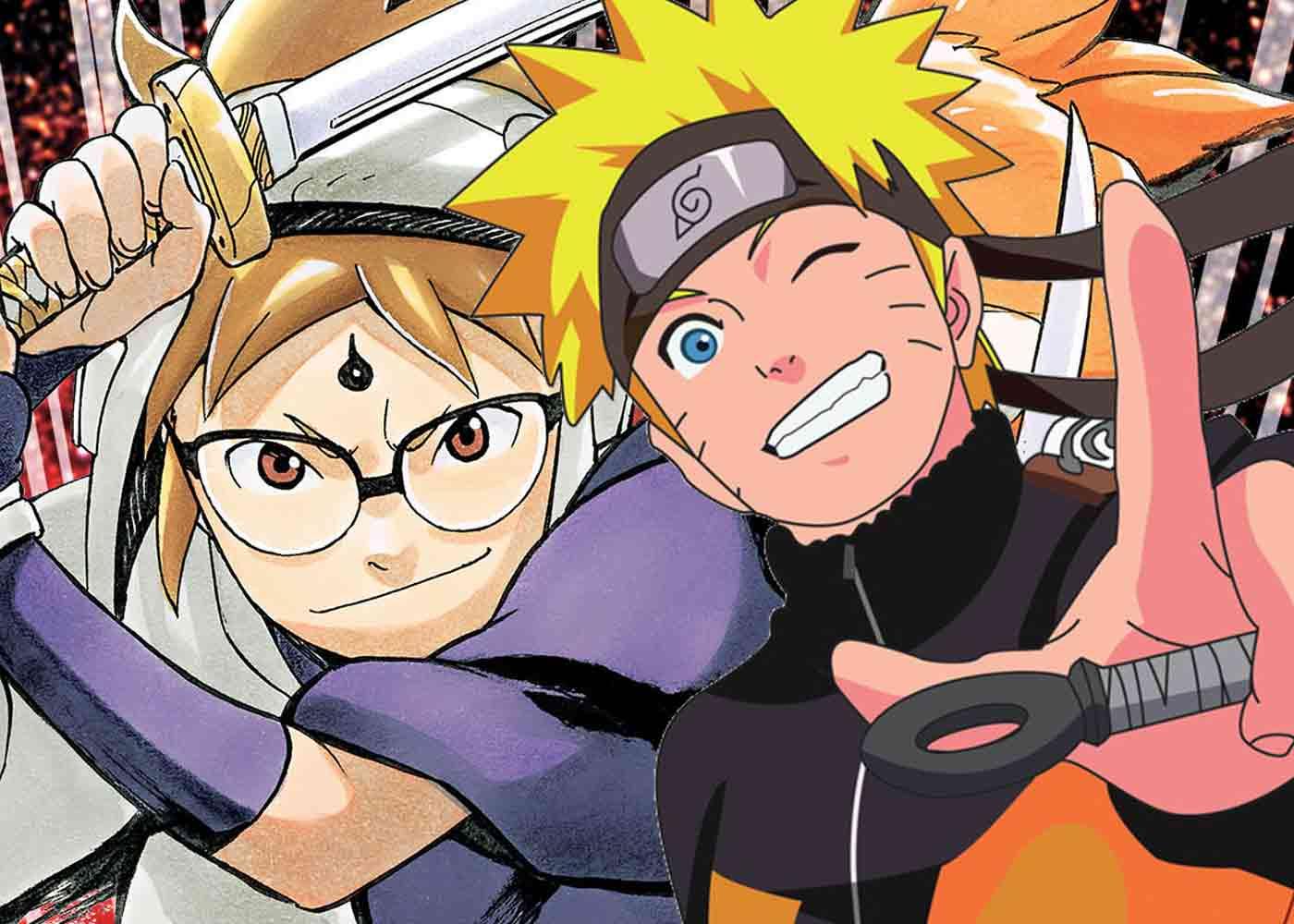 Perbedaan Manga Naruto Dan Samurai 8
